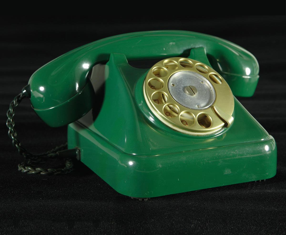 Swiss-Made Bakelite Telephone
