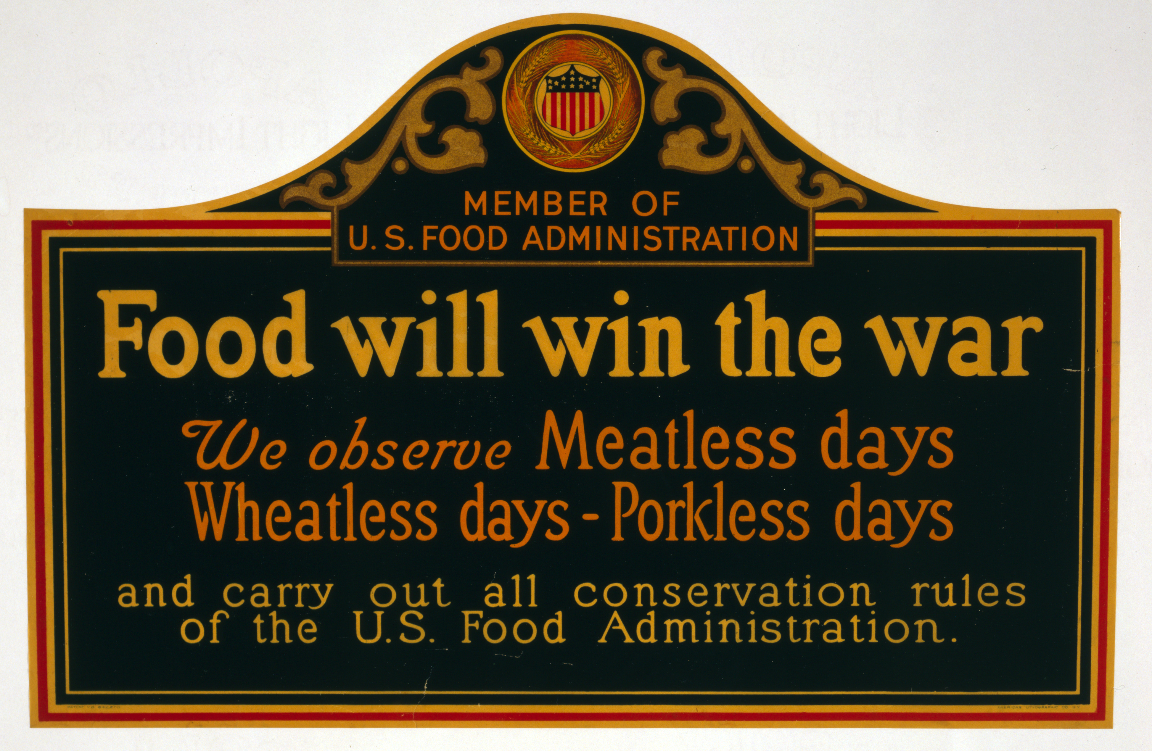 Meatless, wheatless, and porkless