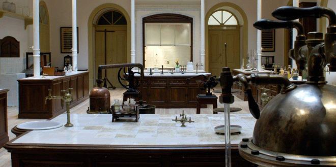 The Laboratorio Chimico at the Museum of Science at the University of Lisbon