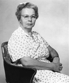 Katharine Blodgett. Courtesy AIP Emilio Segrè Visual Archives, Physics Today Collection.