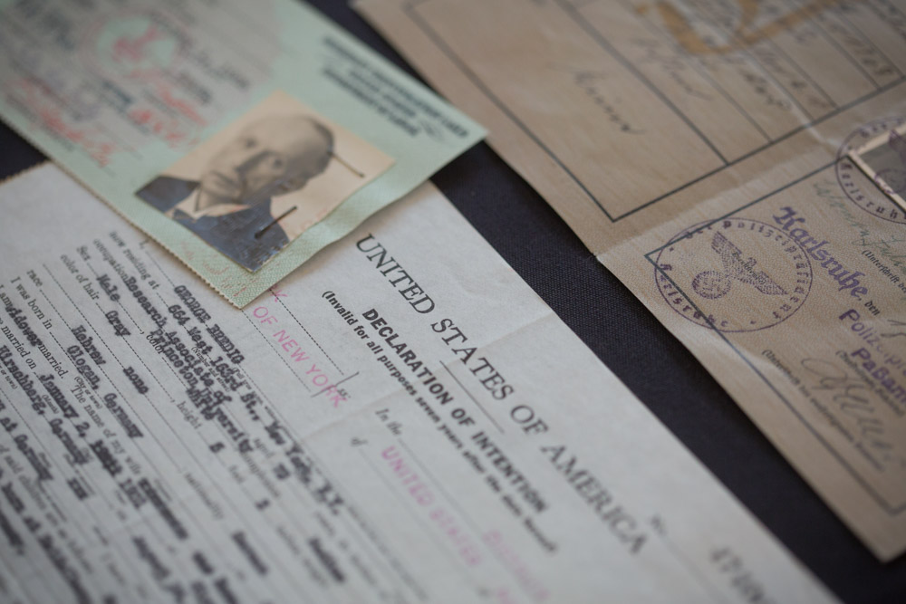 Identification papers from the Bredig archive