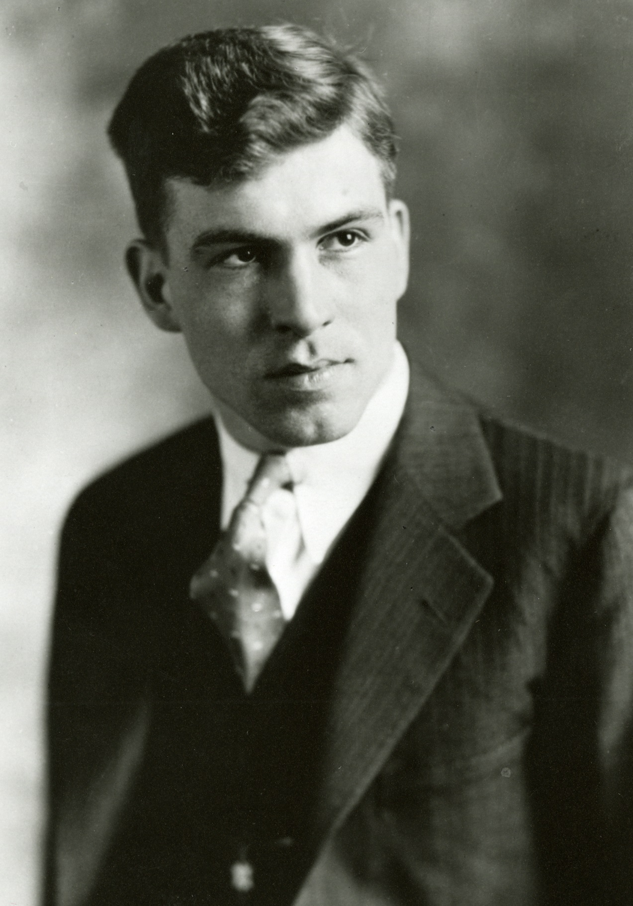 Donald Othmer as a young man.