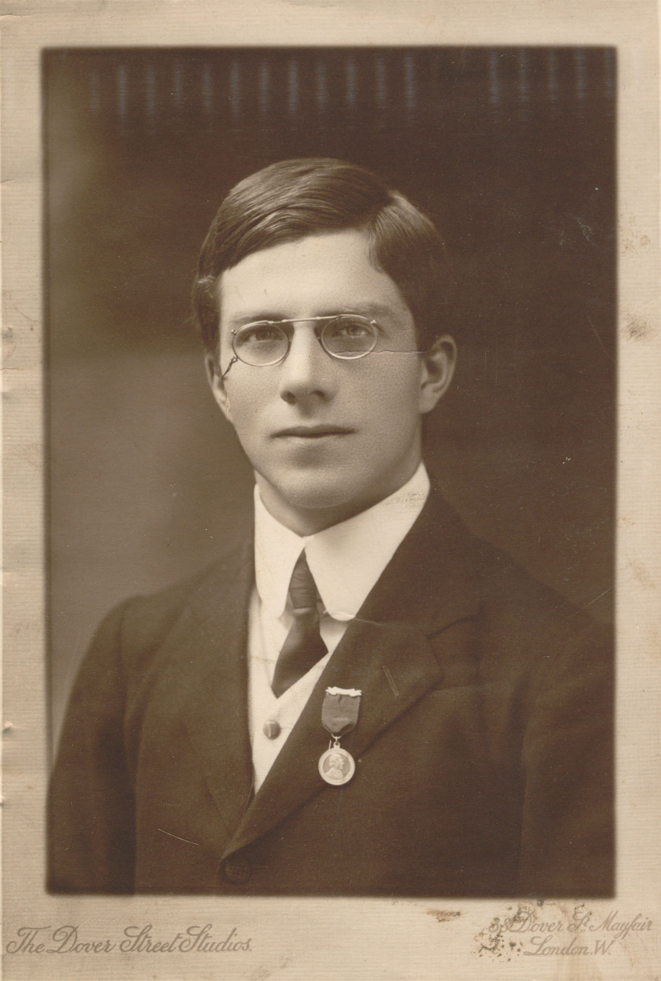 Ronald Fisher in his youth