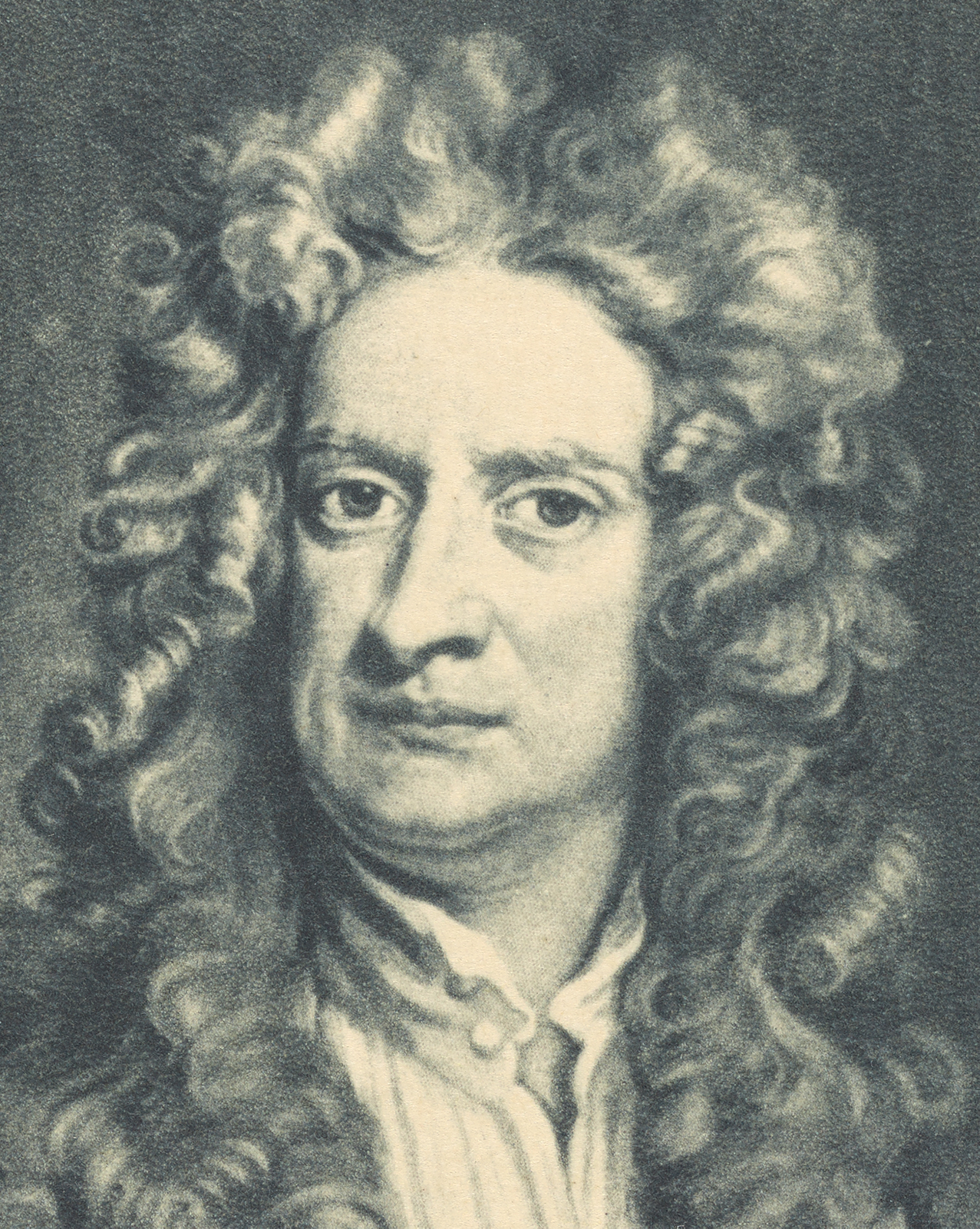 Illustrated portrait of a man