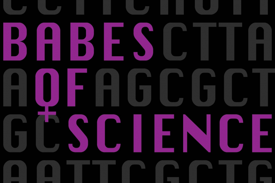 Babes of Science logo