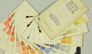 Munsell Book of Color, 1940s. The Institute Collections. Photo by Gregory Tobias