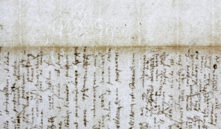 watermark displayed on a Newton manuscript