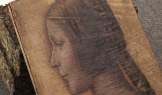 Cropped image of La Bella Principessa
