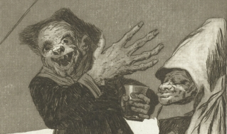 print of a Goya etchingq