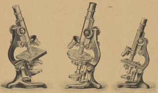 Catalogue image of microscopes