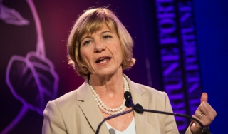 Photo of Susan Desmond-Hellmann at the Fortune Most Powerful Women