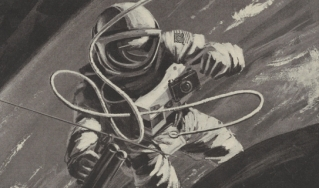 illustration of astronaut