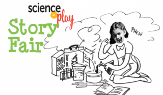 Science story illustration