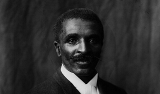 George Washington Carver, Tuskegee Institute, 1906.