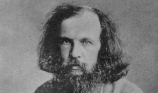 Dmitri Ivanovich Mendeleev as a young man.