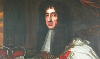 King Charles II, founder of the Royal Society. Sir Peter Lely also painted Charles's father, Charles I, and the man who replaced him, Oliver Cromwell. (the Institute Collections/Gregory Tobias)