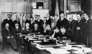 Ernest Solvay at the 1911 Solvay Conference