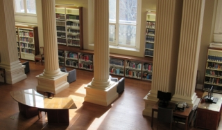 Our library collections span nearly six miles of shelves