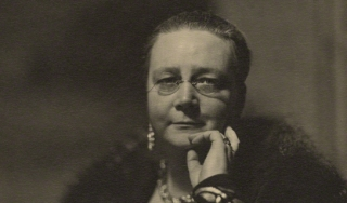 Portrait of Dorothy Sayers, progenitor of forensic-based crime fiction. (National Portrait Gallery, London)