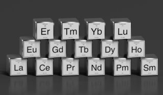 Chemical abbreviations for 17 rare earth elements