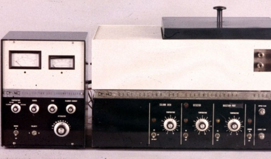 Model 700 Dual-Column Gas Chromatograph, the Institute Collections