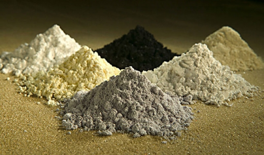 Oxides of rare earth elements