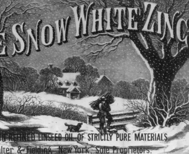 Pure White Snow Zinc