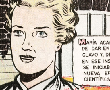 """Mujeres Celebres (""""Famous Women"""") comic"""