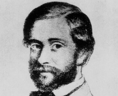 Stanislao Cannizzaro at the age of 32, after a sketch by Demetrio Salazzaro. Courtesy Edgar Fahs Smith Collection, Kislak Center for Special Collections, Rare Books and Manuscripts, University of Pennsylvania.