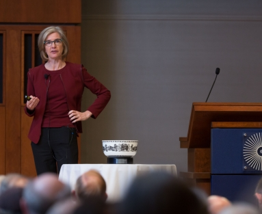 Jennifer Doudna at the 2018 Ullyot lecture