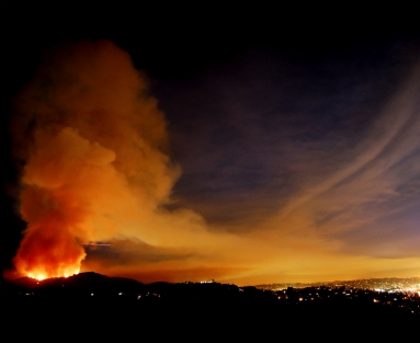 2007 Griffith Park fire in Los Angeles