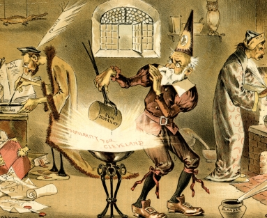 The Unsuccessful Alchemists - Trying to Make Political Gold for Blaine out of Anti-Cleveland Dross (1887)