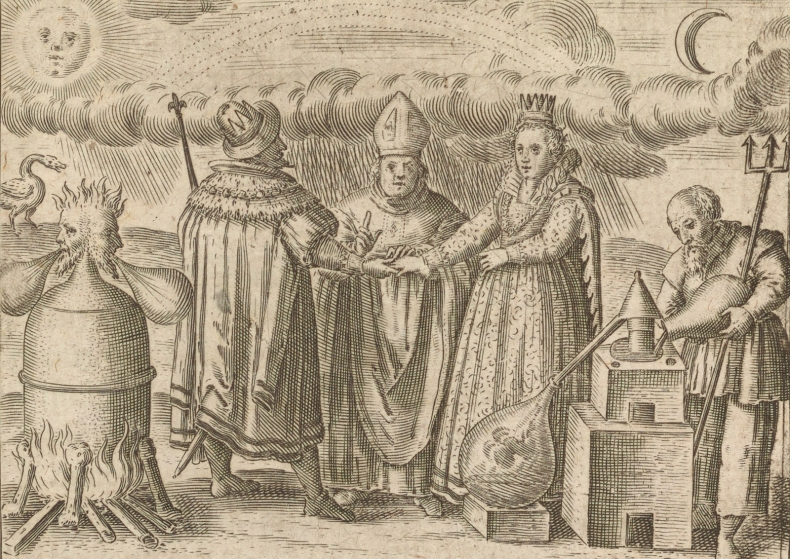 Alchemical engraving