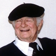Linus Pauling during an oral history interview conducted by the Chemical Heritage Foundation, now the Science History Institute, in 1987.