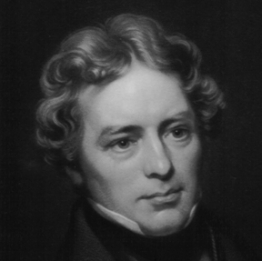 Michael Faraday. Engraved by D. J. Pound from a photograph by Mayall.