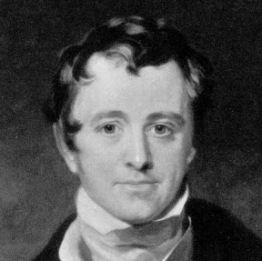 An 1830 engraving of Sir Humphry Davy, by G. R. Newton, after a painting by Sir Thomas Lawrence (1769–1830).