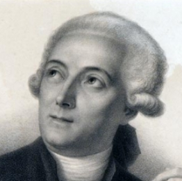 Lavoisier. Engraved by François Séraphin Delpech, after a drawing by Belliart, after the painting by Jacques Louis David.