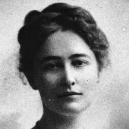 Maud Menten, pictured here in her youth.
