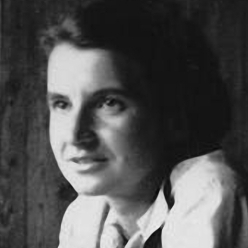 Rosalind Franklin in Paris.