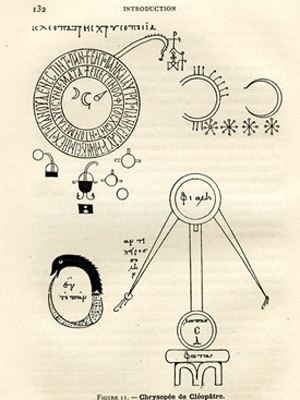 10th- or 11th-century Greek alchemical illustrations