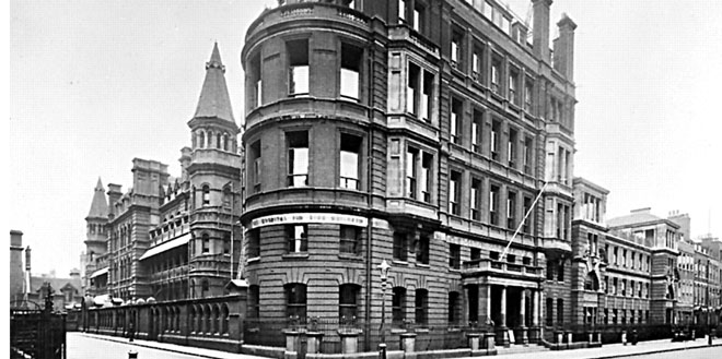 The Hospital for Sick Children, now known as the Great Ormond Street Hospital