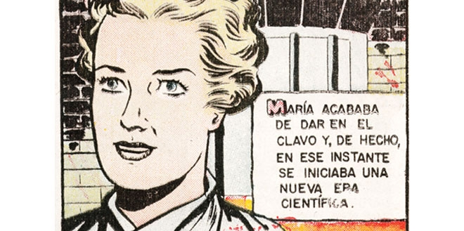 "Mujeres Celebres (""Famous Women"") comic"