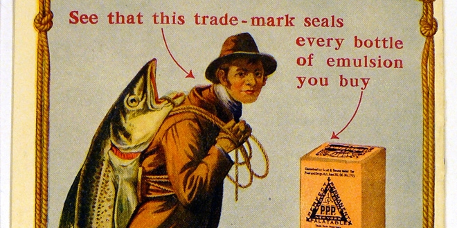 Early cod-liver advertisement