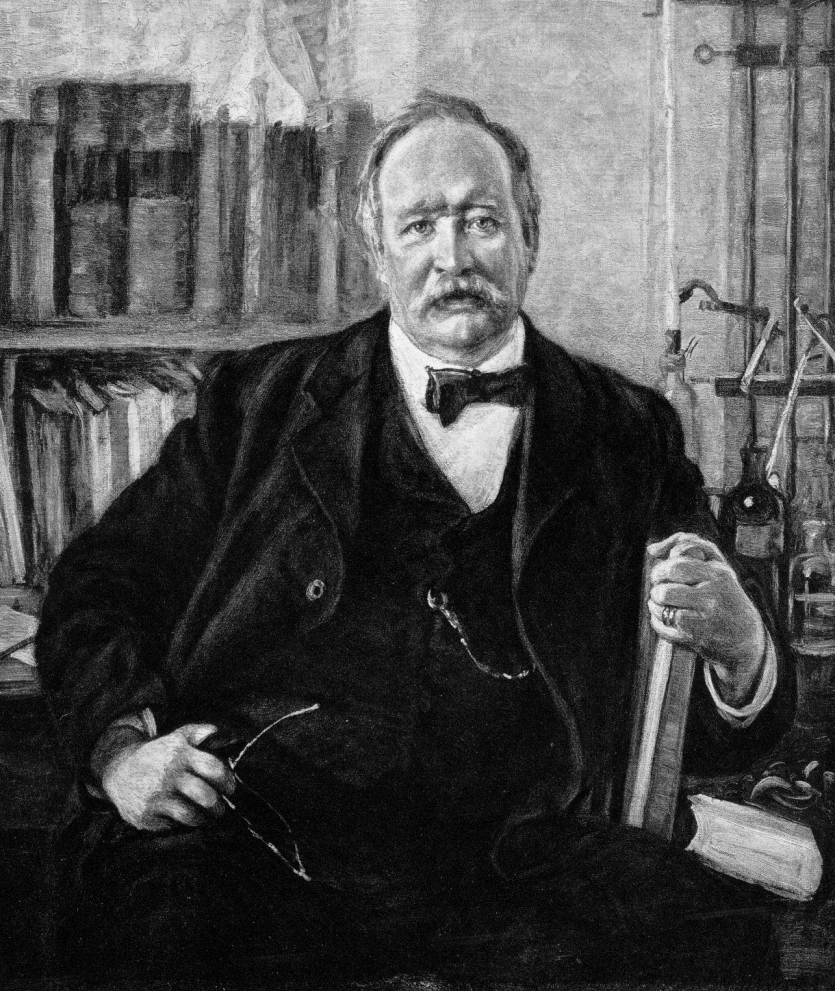 A more mature Arrhenius, painted by Richard Borgh.