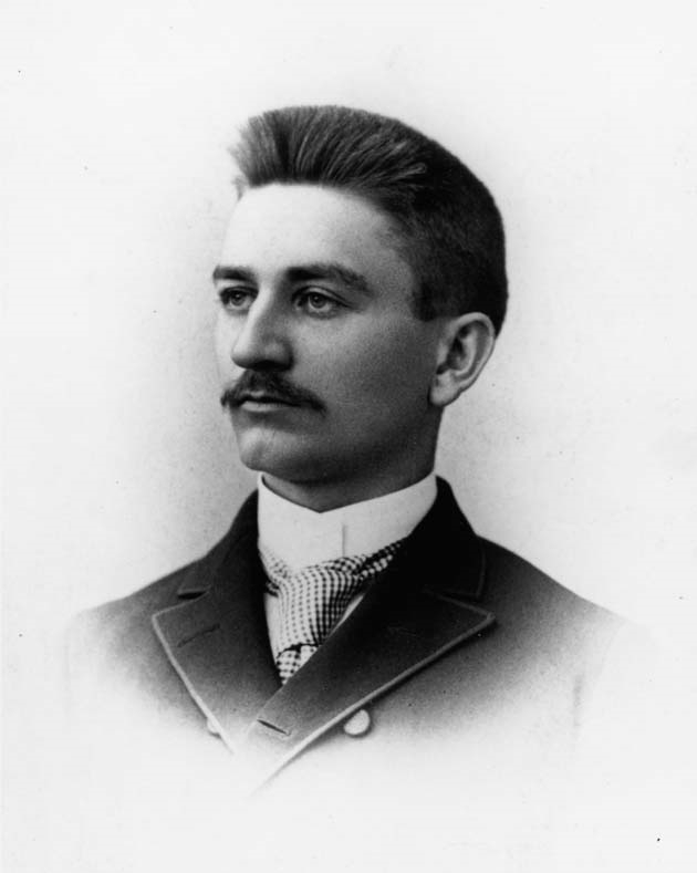 Herbert H. Dow at the age of 22. Dow Historical Collection, the Institute Collections.