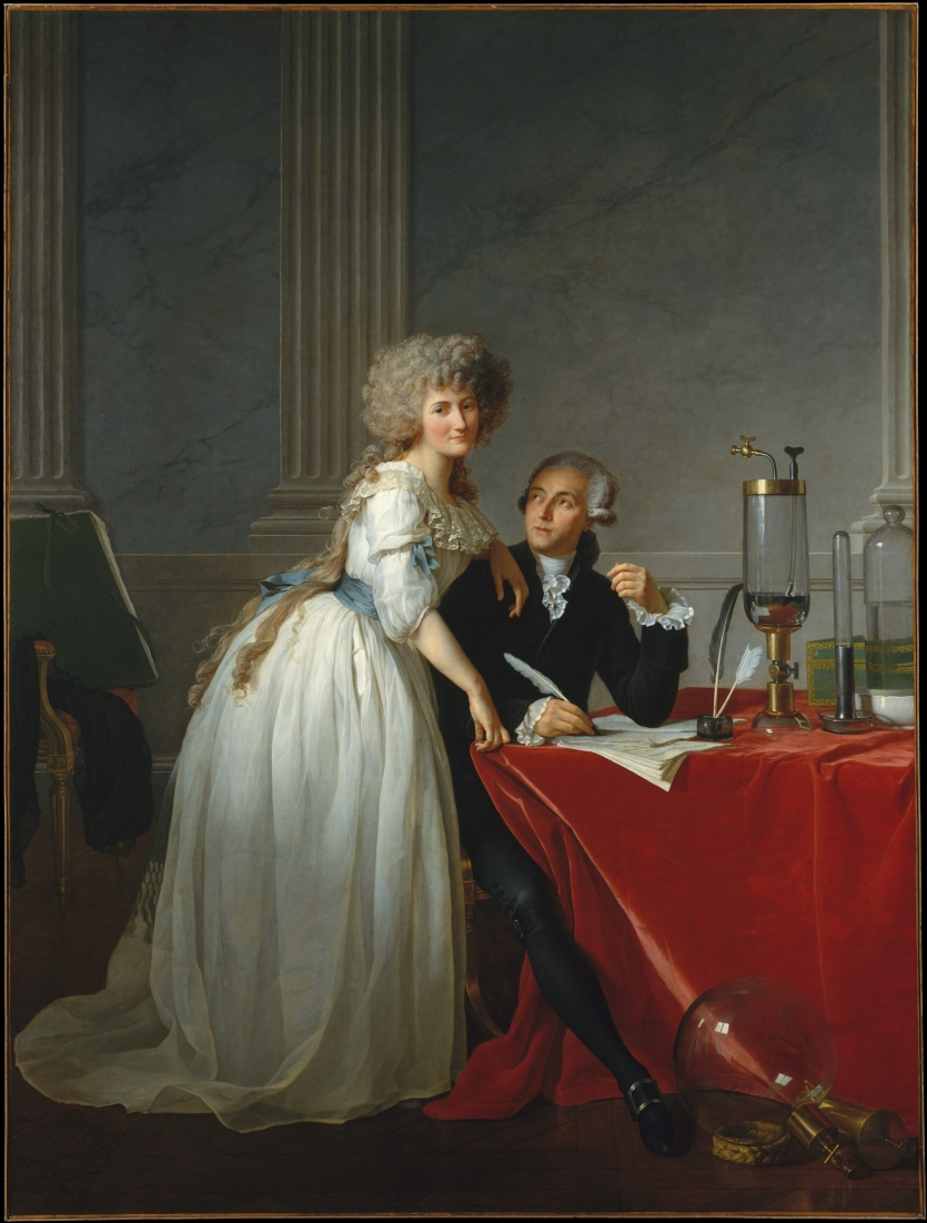 Lavoisier and Wife