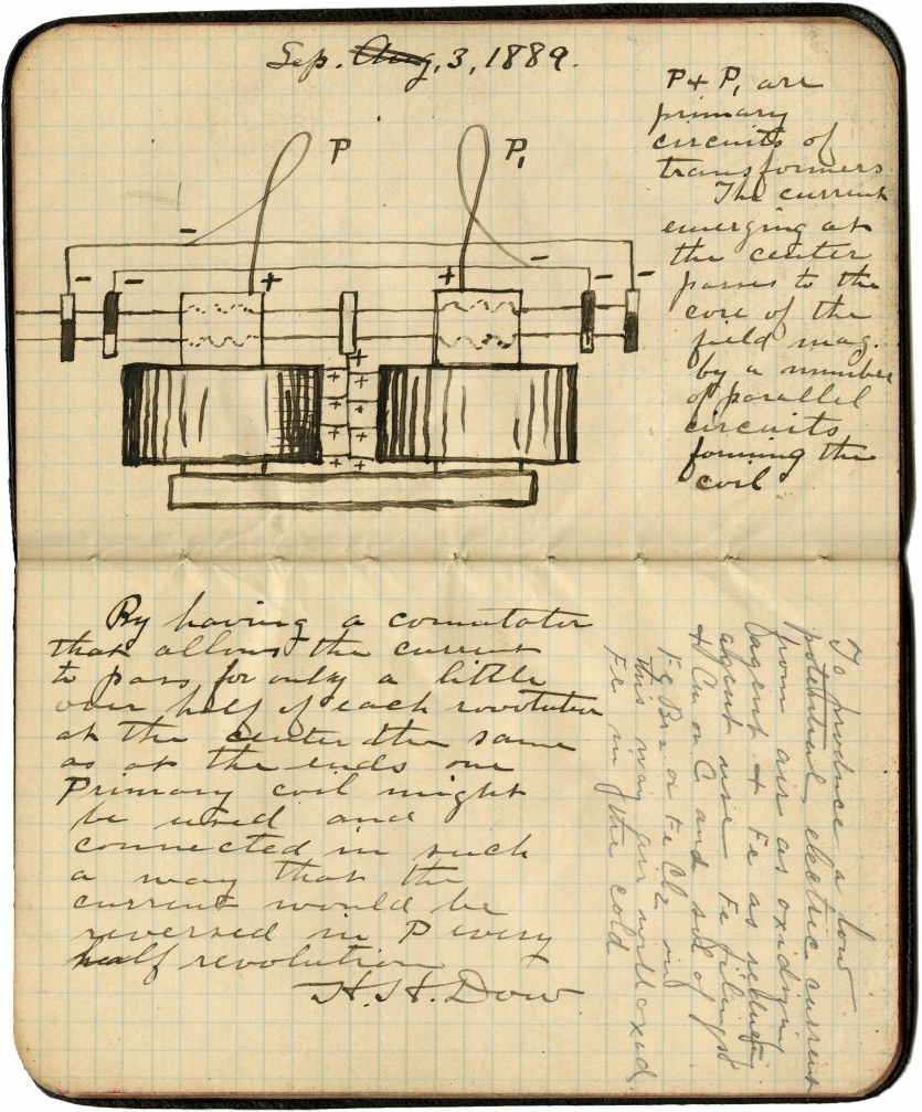 Herbert H. Dow Notebook #3, January–October 1889