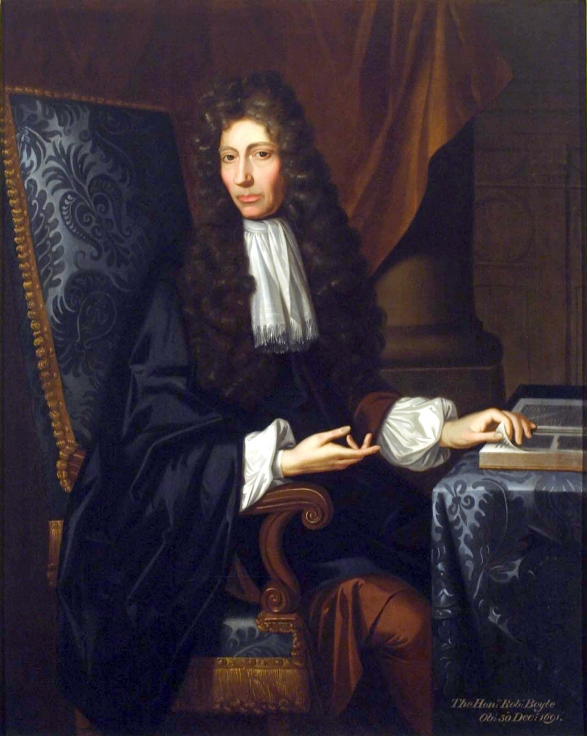 The Shannon Portrait of the Hon. Robert Boyle F. R. S., by Johann Kerseboom, 1689. The Institute Collections. Photograph by Will Brown.