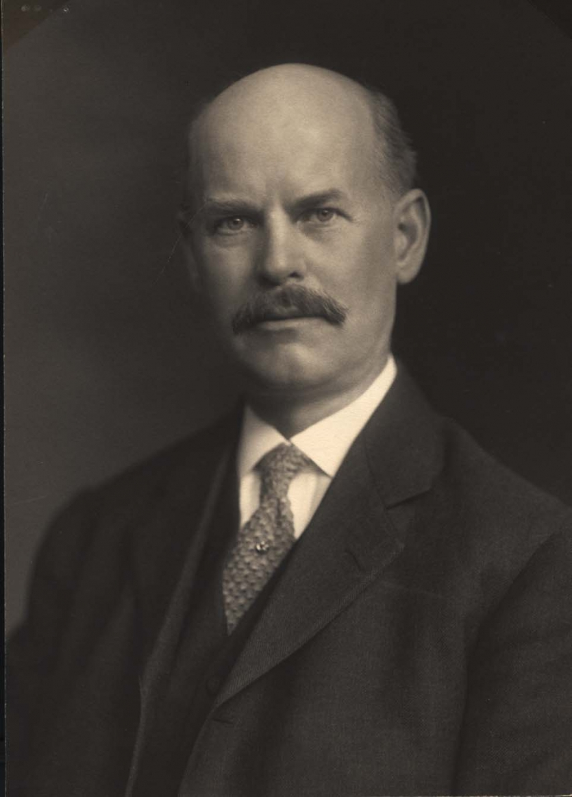 Portrait of Edward G. Acheson, early 20th century. Science History Institute