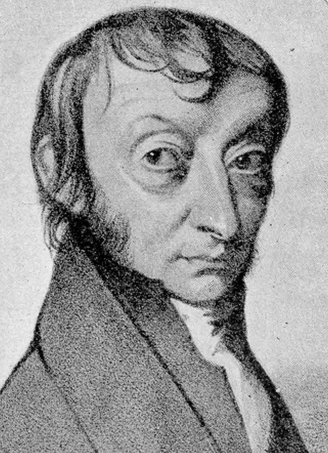 Amedeo Avogadro. Courtesy of Edgar Fahs Smith Collection, Kislak Center for Special Collections, Rare Books and Manuscripts, University of Pennsylvania.